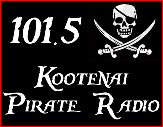 101.5 • Kootenai Pirate Radio • 1KFM.US